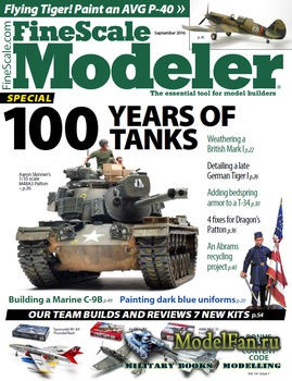 FineScale Modeler Vol.34 №7 (September) 2016