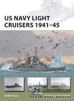 Osprey - New Vanguard 235 - US Navy Light Cruisers 1941-1945