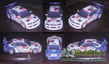 Paper-replika - BMW M3 GTR Russian Bears Motorsport
