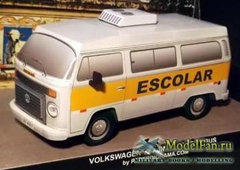 Paperdiorama - Volkswagen T2 Kombi Schoolbus