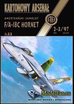 Halinski - Kartonowy Arsenal 2-3/1997 - F/A-18C Hornet VFA-195