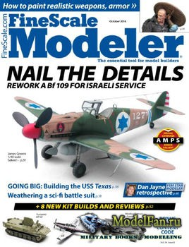 FineScale Modeler Vol.34 №8 (October) 2016