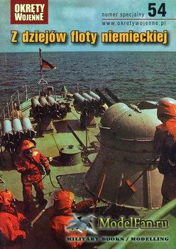 Okrety Wojenne numer Specjalny 54 - Z Dziejow Floty Niemieckiej