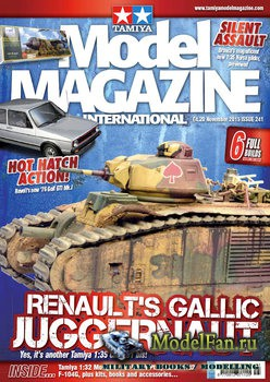 Tamiya Model Magazine International №241 (November 2015)