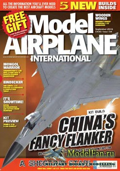 Model Airplane International №134 (September 2016)