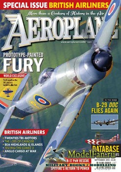 Aeroplane Monthly Magazine (September 2016)