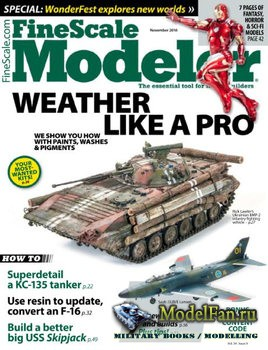 FineScale Modeler Vol.34 №9 (November) 2016