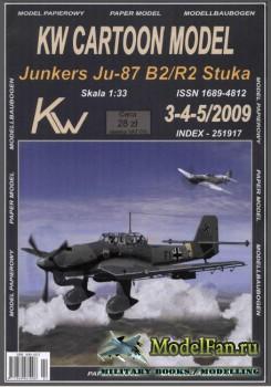 KWС Model 3-4/52009 - Junkers Ju-87 B2R2 Stuka