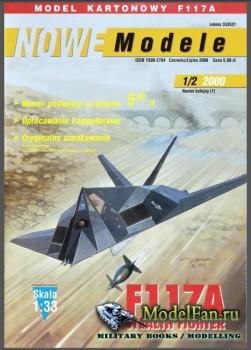 Nowe Modele 1-2/2000 – Stealth fighter  F-117A Nighthawk