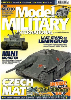 Model Military International Issue 24 (April 2008)