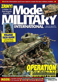 Model Military International Issue 72 (April 2012)