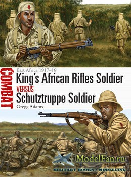 Osprey - Combat 20 - King's African Rifles Soldier vs Schutztruppe Soldier