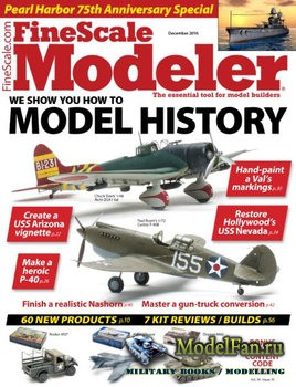 FineScale Modeler Vol.34 №10 (December) 2016