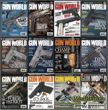 Gun World №01-12, 2016
