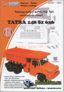 PMHT 23 (Papírové Modely Hasičské Techniky) - Tatra 148 ...