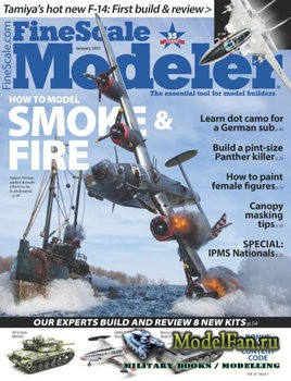FineScale Modeler Vol.35 №1 (January 2017)
