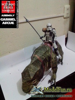 Attimon - Dewback Trooper Star Wars