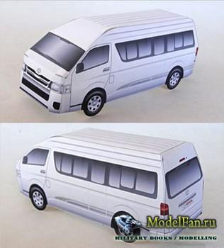 Toyota Paper Model - Toyota Hiace
