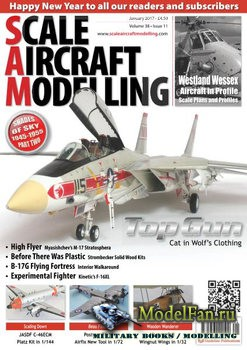 Scale Aircraft Modelling (January 2017) Vol.38 №11