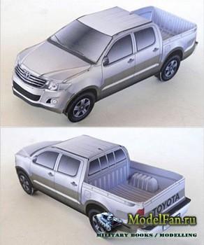 Toyota Paper Model - Toyota Hilux