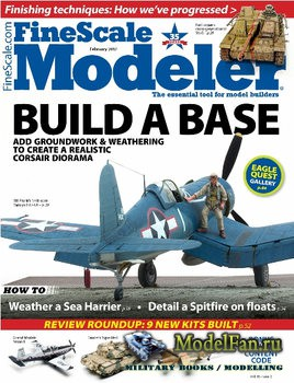 FineScale Modeler Vol.35 №2 (February) 2017