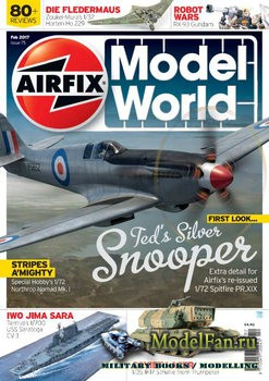 Airfix Model World - Issue 75 (February 2017)