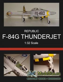 Истребитель-бомбардировщик Republic F-84G Thunderjet
