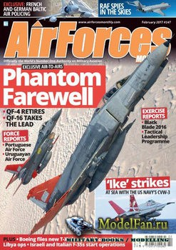 AirForces Monthly (February 2017) №347