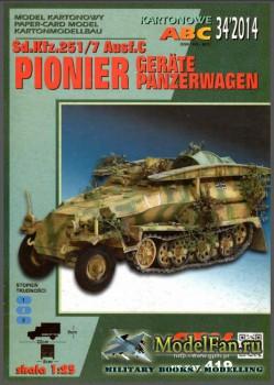 GPM 419 - Sd.Kfz.251/7 Ausf.C PIONIER Gerate Panzerwagen