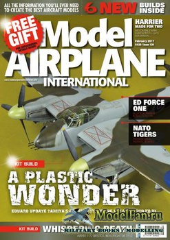 Model Airplane International №139 (February 2017)