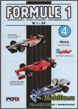 PKAA 4 - BAR 005, Ferrari F 2000, Ligier JS 5