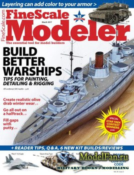 FineScale Modeler Vol.35 №3 (March) 2017
