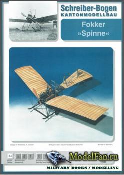 Schriber-Bogen - Fokker Spinne