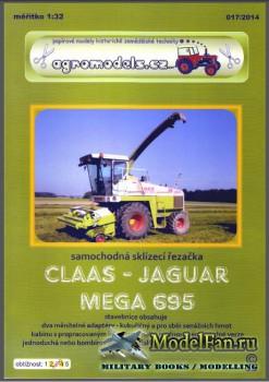 Agromodels №17 (2014) - Комбайн Claas-Jaguar Mega 695