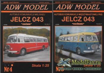 ADW Model 4-5/2008 - Городской автобус Jelcz 043