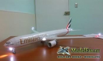 Canon Papercraft - Boeing B-777-300ER Emirates (Перекрас)