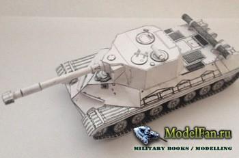 Бумажные танки - Объект 268 на базе танка Т10М