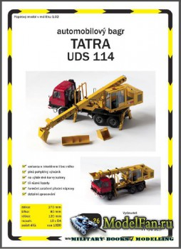 Ripper Works 026 - Экскаватор-планировщик Tatra 815 UDS 114