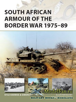 Osprey - New Vanguard 243 - South African Armour of the Border War 1975-1989