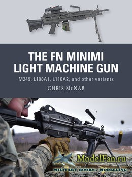 Osprey - Weapon 53 - The FN Minimi Light Machine Gun