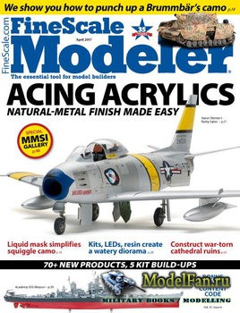 FineScale Modeler Vol.35 №4 (April) 2017
