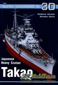 Super Drawings in 3D №16017 - Japanese Heavy Cruiser Takao