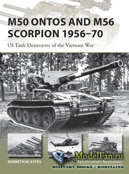 Osprey - New Vanguard 240 - M50 Ontos and M56 Scorpion 1956-1970