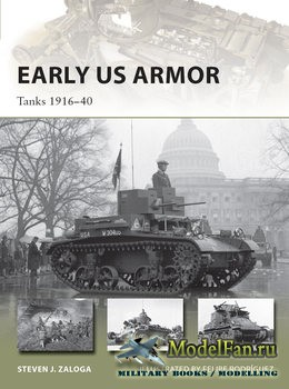 Osprey - New Vanguard 245 - Early US Armor: Tanks 1916-1940