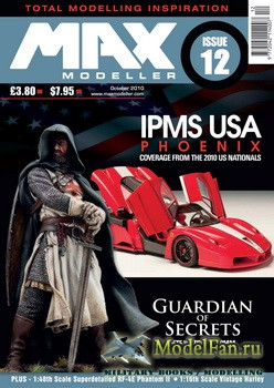 MAX Modeller - Issue 12 (October) 2010