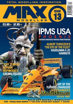 MAX Modeller - Issue 13 (November) 2010