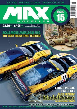 MAX Modeller - Issue 15 (January) 2011