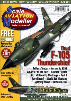 Scale Aviation Modeller International (August 2005) Vol.11 №8