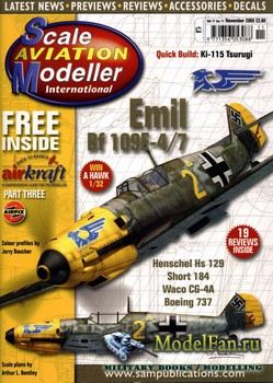 Scale Aviation Modeller International (November 2005) Vol.11 №11