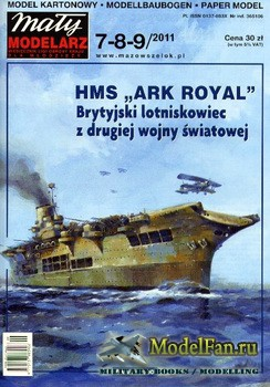 "Maly Modelarz №7-8-9 (2011) - HMS ""Ark Royal"""